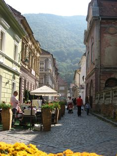 Brasov, Romania - such a beautiful city. Brasov Romania, Bucharest Romania, The Places Youll Go, Places To See, Beautiful World, Beautiful Places, Famous Castles, Urban Setting, Adventure Is Out There