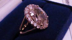 Camrose & Kross Jackie Kennedy Kunzite Ring Size 9.5 Van Cleef & Arpels Replica #CamroseKross #Cocktail