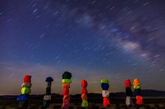 https://flic.kr/p/Uwrhap | Starship Earth | Starship Earth  Seven Magic Mountains Milky Way over Jean Dry Lake Jean, Nevada