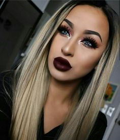 SLAYing this bold lip+bold eye combo!😻👌Ruby Slipper👠Hydra Matte liquid lipstick is a perfect fit💋💯 Shop the link in our bio to… Kiss Makeup, Beauty Makeup, Eye Makeup, Hair Makeup, Hair Beauty, Full Makeup, Makeup Style, Elegant Makeup, Formal Makeup