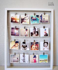 Decoração de porta retratos para quarto de casal . Agora e hora de escolher as fotos para decorar seu quarto com porta retratos barato.
