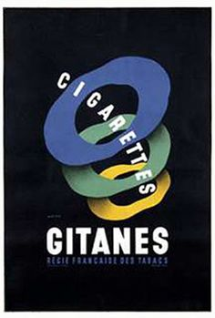 Cigarettes Gitanes advertisement by Jean D'Ylen, 1927 Vintage Advertising Posters, Vintage Advertisements, Vintage Posters, Dipping Tobacco, Vintage Cigarette Ads, Pub Vintage, Polish Posters, Coffee And Cigarettes, Pin Up