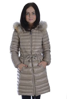 Womens Winter Hooded Down Plus Size Jacket Fur Collar Thick White ...