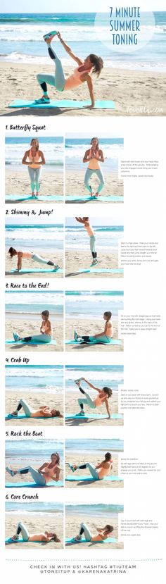 7 Minute Summer Toning with Tone It Up!