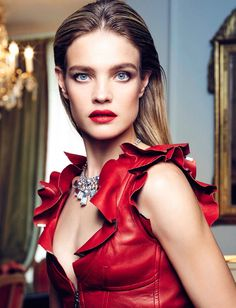 Natalia Vodianova by Nico Bustos for Vogue Spain