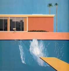 ephe:  David Hockney - A Bigger Splash (1967)