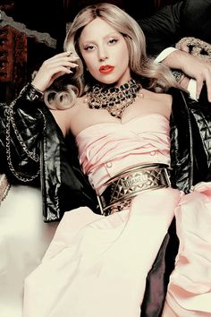 Lady Gaga shot in Coco Chanel's apartment by Karl Lagerfeld for Hollywood Reporter
