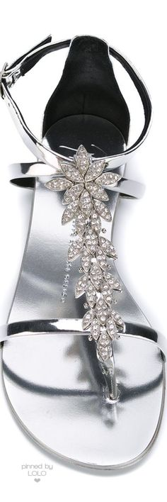 GIUSEPPE ZANOTTI DESIGN Embellished Sandals | LOLO❤︎