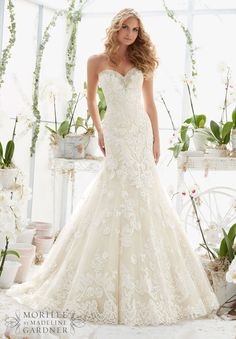 Mori Lee - 2817 - All Dressed Up, Bridal Gown