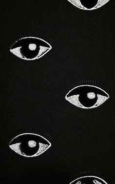 kenzo embroidery broderie oeil yeux eye eyes pattern ocular