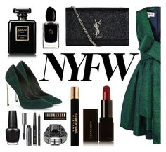 Redcarpet by pankh on Polyvore featuring A.W.A.K.E., Rachel Zoe, Yves Saint Laurent, Illamasqua, Bobbi Brown Cosmetics, Forever 21, Chanel, Elizabeth and James, Giorgio Armani and OPI