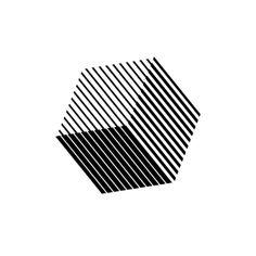 Hand Logo, Logos, Typography Logo, Geometric Logo, Geometric Designs, Cube Design, Art Graphique, Logo Design Inspiration, Sticker Design