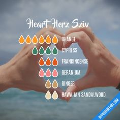 Heart  Herz Sziv - Essential Oil Diffuser Blend