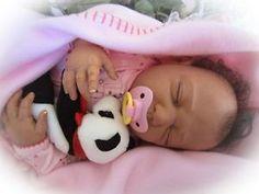 African American Reborn Baby Dolls | ... Reborn Doll Baby Girl Human Hair African American Bi-racial Baby Girl