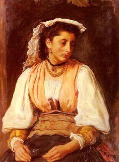 Pippa (Sir John Everett Millais - )