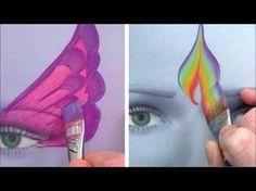 Utiliser 5 pinceaux de maquillage essentiels / Comment maquiller les enfants 4ème PARTIE - YouTube