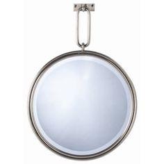 Lander Mirror  Contemporary, Metal, Mirror by Arteriors
