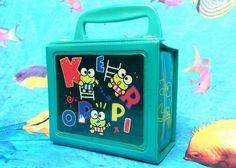 KAWAII 90's Sanrio Keroppi Clear Window Box by RIDETHENOWAVE, $8.00