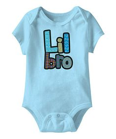 Take a look at this Light Blue 'Lil Bro' Bodysuit - Infant by American Classics on #zulily today!