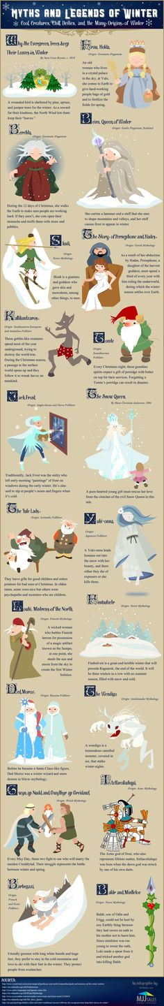 Winter myths and legends