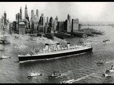 """La leyenda del """"Queen Mary"""" El verdadero barco fantasma - YouTube"""