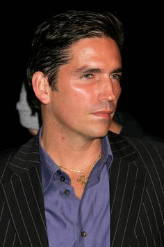 With this hair and a touch of gray . . . Jim Caviezel