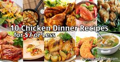 Cheap Chicken Dinner Recipes is Among the Favorite Dinner Of Several Persons Around the World. Besides Easy to Create and Great Taste, This Cheap Chicken Dinner Recipes Also Health Indeed. Cheap Chicken Recipes, Easy Chicken Dinner Recipes, Easy Meals, Cheap Recipes, Chicken Meals, Yummy Recipes, Cheap Family Dinners, Cheap Dinners, Homemade Shake And Bake