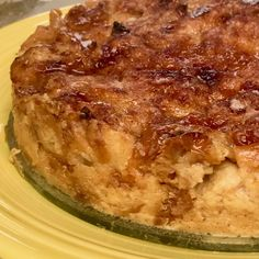 Pressure Cooker Tres Leches Croissant Bread Pudding