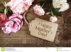 de-kaart-van-de-moedersdag-met-rustieke-rozen-51692295.jpg (1300×957)