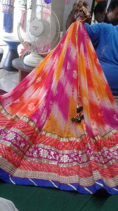 Latest Chaniya choli for Garba season 2016 Pakistani Dresses, Indian Dresses, Indian Outfits, Rajasthani Lehenga, Indian Sarees, Kurta Designs, Blouse Designs, Choli Dress, Garba Chaniya Choli