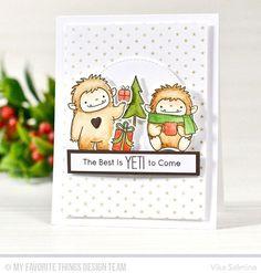 Ну разве эти зубастики не чудо?) Уже пакуют подарочки к НГ)  Дизайны @torico27 в релизах @mftstamps всегда килотонны милоты❤️#штампы #открытки #mftstamps #vika_mftstamps #cardmaking #stamps  #coloring #cards #handmade #papercrafting