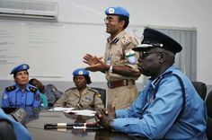 Training police officers around the world is key to the rule of law. Photo from Juba, South Sudan. More info on the UN's rule of law work: http://unrol.org/article.aspx?article_id=24. Photo credit: UN Photo/Arpan Munier