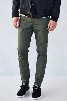 $29, Standard Cloth 5 Pocket Stretch Skinny Pant by Urban Outfitters. Sold by Urban Outfitters. Click for more info: http://lookastic.com/men/shop_items/103212/redirect