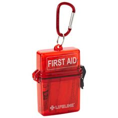 """Weatherproof First Aid Kit :: Includes one sting relief pad, three antiseptic towelettes, two alcohol prep pads, 16-3/4"""" x 3"""" bandages, one knuckle bandage, one knee and elbow bandage, two adhesive strips and one 2"""" x 2"""" sterile gauze pad $ 5.99"""