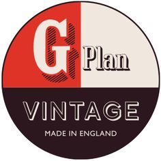 Proudly introducing our G Plan Vintage logo,made in England and designed in collaboration with Hemingway Design Wayne Hemingway, Furniture Village, Promotional Design, Sofa Styling, Green Logo, Vintage Sofa, Retro Furniture, Furniture Companies, Design Reference