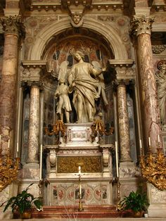 Statue of Archangel Raphael and Tobias | Flickr - Photo Sharing!