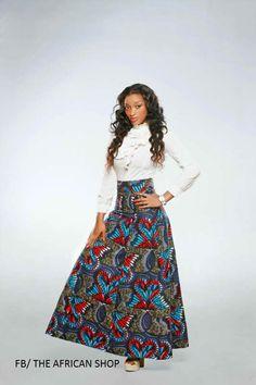 Moosum Skirt. by THEAFRICANSHOP. #Africanfashion #AfricanWeddings #Africanprints #Ethnicprints #Africanwomen #africanTradition #AfricanArt #AfricanStyle #Kitenge #AfricanBeads #Gele #Kente #Ankara #Nigerianfashion #Ghanaianfashion #Kenyanfashion #Burundifashion #senegalesefashion #Swahilifashion ~DK