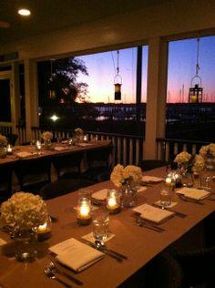 Sweetgrass Restaurant and Bar - A waterfront restaurant at the Dataw Island Marina near Beaufort, SC