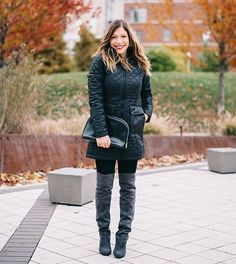 quilted jacket via @halliekwilson