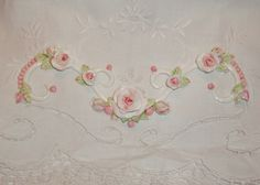 shabby chic furniture applique #shabby #chic #pink #handmade #furniture #applique