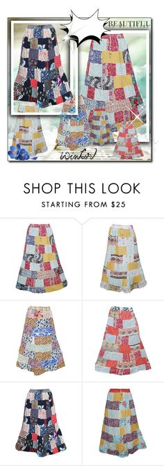 VINTAGE PATCHWORK MAXI SKIRTS by baydeals on Polyvore featuring vintage   http://stores.ebay.com/mogulgallery/WOMENS-SKIRTS-/_i.html?_fsub=678282219&_sid=3781319&_trksid=p4634.c0.m322