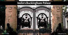 The gates of the Lalbagh Palace in Indore, India are an exact replica of the gates of London's Buckingham Palace. They were actually made in England and then shipped to Indore.