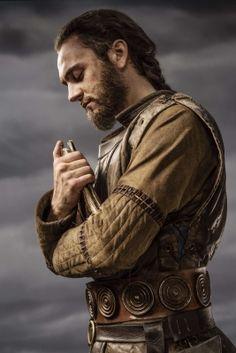 Athelstan (George Blagden) in Vikings