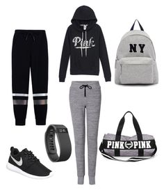 Untitled #203 by dr-azzko on Polyvore featuring polyvore, fashion, style, T By Alexander Wang, rag & bone, NIKE, Joshua's, Fitbit, women's clothing, women's fashion, women, female, woman, misses and juniors