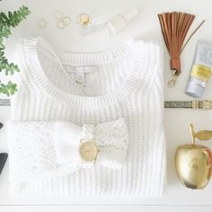 FINAL PRICE | LC | White Crochet Sleeve Sweater Lauren Conrad White Crochet Sleeve Sweater | Long Sleeve Pullover Knit Sweater in White  Long crochet sleeves Scoop neckline Ribbed trim   60% cotton, 40% rayon Machine wash inside out, cold LC Lauren Conrad Sweaters Crew & Scoop Necks