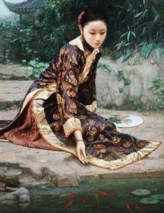 Por El estanque de peces Por Jiang Changyi, 1999