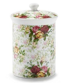 Royal Albert Old Country Roses Canister