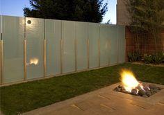 Garden Fence Design Ideas - Contemporary Fire Pit Fire Pit - Shades of Green Landscape Architecture Sausalito, CA