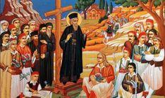 ΘΕΤΙΚΗ ΕΝΕΡΓΕΙΑ: Ήρθαν οι «κοκκινογέλεκοι» στην Ελλάδα.[ Γάλλοι] Άλλη μια προφητεία του Πατροκοσμά επαληθεύεται Byzantine Icons, Orthodox Icons, Face, Painting, Spirituality, Painting Art, Paintings, Faces, Drawings