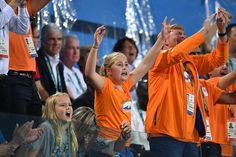 Princess Ariane of the Netherlands Queen Maxima of the Netherlands Princess CatharinaAmalia and King Willem Alexander of the Netherlands celebrate...